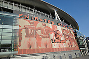 Emirates Stadium during the Champions League  Group F match between Arsenal and Bayern Munich at the Emirates Stadium, London, England on 20 October 2015. Photo by Alan Franklin.