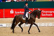 Nina Hoffmann - Leo af Magnushoj<br /> Reem Acra FEI World Cup Final Dressage 2011<br /> © DigiShots