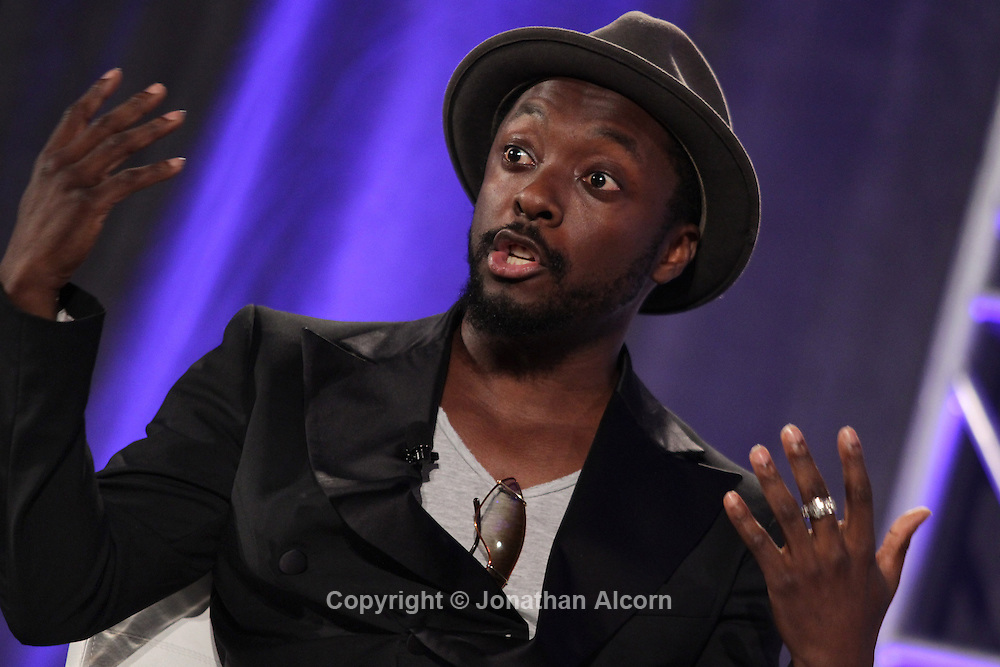 Will.i.am, Grammy winner and founder of the pop group the Black Eyed Peas, speaks at TheWrap's media leadership conference, TheGrill, at the SLS Hotel in Beverly Hills.