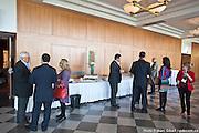 Photo documentaire de la journée de formation et de réseautage de la SCDA / CSAE Québec : DIRIGER DANS UN MONDE EN MUTATION à  Hotel Mortagne / Boucherville / Canada / 2014-11-14, Photo © Marc Gibert / adecom.ca