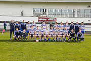SFC at Trim, April 10th 2016.<br /> Navan O`Mahonys vs Moynalvey<br /> Navan O`Mahonys Team, Back Row, L-R, Damien Moran, David Quirke, Cormac McGuinness, James Reilly, David Bray, Conor Finnegan, Stephen Bray, Brian Dillon, Ruairi O`Coileann, Duggie Dillon, Michael Reilly, Conor Doyle.<br /> Front Row, L-R, Henry Finnegan, James O`Malley, Daire Smith, Shane Gillespie, Darragh Maguire, Marcus Brennan, Alan Forde, Gary O`Brien, Niall McKeigue, Cathal Smith, Robert Kellahan, Andy Leech.<br /> Photo: David Mullen /www.cyberimages.net / 2016
