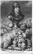 Charles X Gustav {1622 – 1660) King of Sweden 1654 1660. Engraving