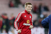 Sunderland midfielder Duncan Watmore during the Barclays Premier League match between Sunderland and Liverpool at the Stadium Of Light, Sunderland, England on 30 December 2015. Photo by Simon Davies.