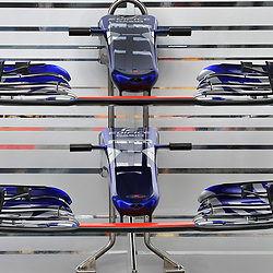 Scuderia Toro Rosso's spare nose cones.<br /> Day 1 of the 2017 Formula 1 Singapore airlines, Singapore Grand Prix, held at The Marina Bay street circuit, Singapore on the 14th September 2017.<br /> Wayne Neal | SportPix.org.uk