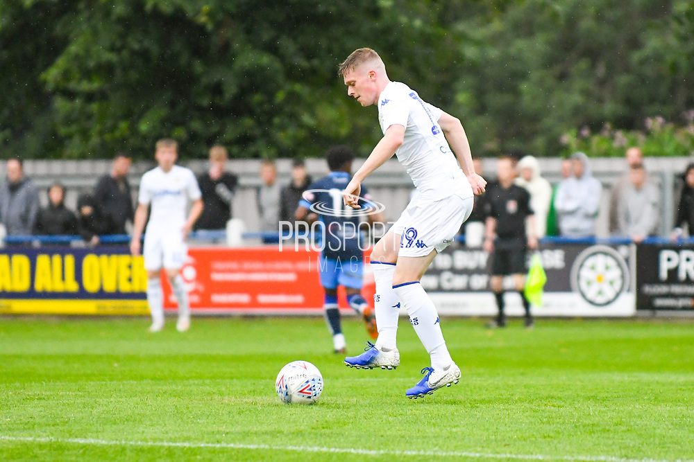 Leeds United Jack Jenkins (19) in action during the Pre-Season Friendly match between Tadcaster Albion and Leeds United at i2i Stadium, Tadcaster, United Kingdom on 17 July 2019.
