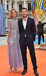 Arizona Muse and Boniface Verney at the Royal Academy of Arts Summer Exhibition Preview Party 2017, Burlington House, London England. 7 June 2017.