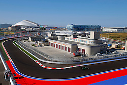 10.10.2014, Sochi Autodrom, Sotschi, RUS, FIA, Formel 1, Grosser Preis von Russland, Training, im Bild Marcus Ericsson (SWE) Caterham CT05. // during the Practice of the FIA Formula 1 Russia Grand Prix at the Sochi Autodrom in Sotschi, Russia on 2014/10/10. EXPA Pictures © 2014, PhotoCredit: EXPA/ Sutton Images/ Martini<br /> <br /> *****ATTENTION - for AUT, SLO, CRO, SRB, BIH, MAZ only*****