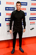 Madrid- Cristiano Ronaldo At Marca Awards - 7 Nov 2016