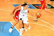 DESCRIZIONE : Ortona Italy Italia Eurobasket Women 2007 Italia Spagna Italy Spain <br /> GIOCATORE : Giorgia Sottana <br /> SQUADRA : Nazionale Italia Donne Femminile <br /> EVENTO : Eurobasket Women 2007 Campionati Europei Donne 2007 <br /> GARA : Italia Spagna Italy Spain <br /> DATA : 29/09/2007 <br /> CATEGORIA : Palleggio <br /> SPORT : Pallacanestro <br /> AUTORE : Agenzia Ciamillo-Castoria/E.Castoria <br /> Galleria : Eurobasket Women 2007 <br /> Fotonotizia : Ortona Italy Italia Eurobasket Women 2007 Italia Spagna Italy Spain <br /> Predefinita :