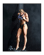 """Natalie Lyle """"Muscle Shower"""". Printed and shipped to you directly from a professional photography printing facility. Top quality inks and paper. White border for framing without covering the image."""