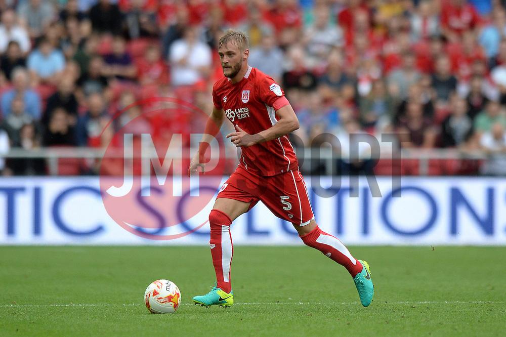Joel Ekstrand of Bristol City - Mandatory by-line: Dougie Allward/JMP - 17/09/2016 - FOOTBALL - Ashton Gate Stadium - Bristol, England - Bristol City v Derby County - Sky Bet Championship