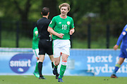 Luca John Connell of Republic of Ireland (18) during the UEFA European Under 17 Championship 2018 match between Bosnia and Republic of Ireland at Stadion Bilino Polje, Zenica, Bosnia and Herzegovina on 11 May 2018. Picture by Mick Haynes.
