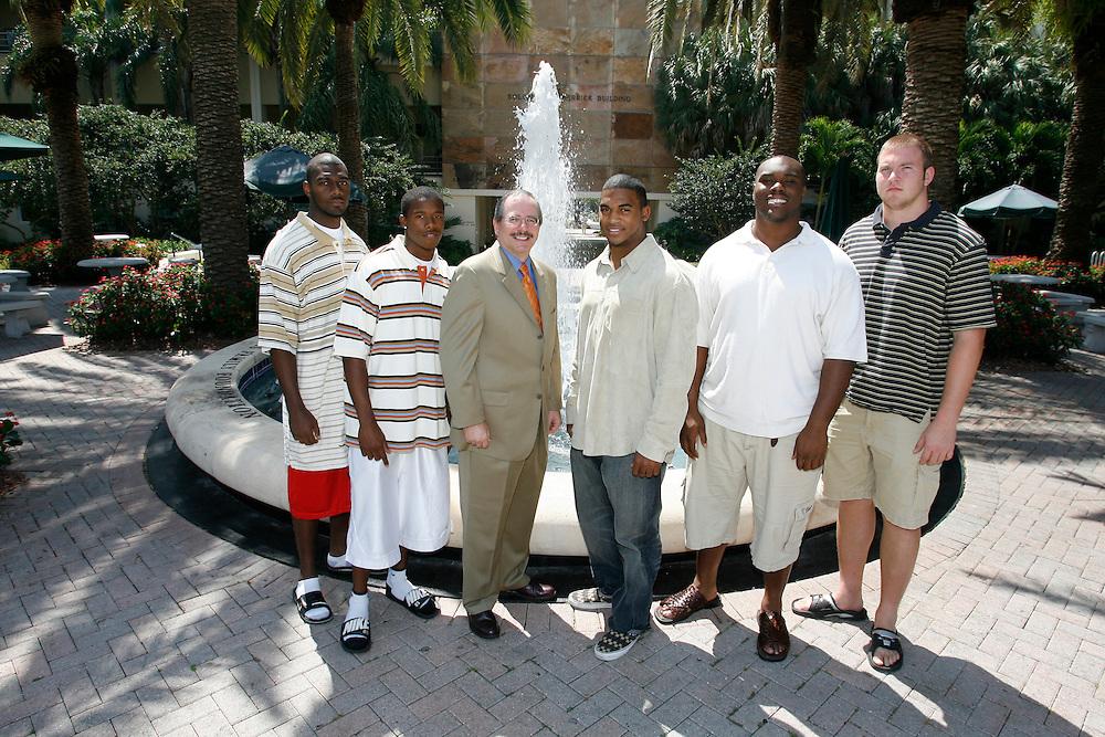 2007 Miami Hurricanes Football, May 1, 2007.