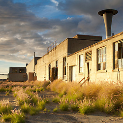 Abandoned buildings at the El Toro Marine Base. Irvine, CA.