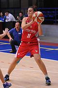 DESCRIZIONE : Latina Basket Campionato Italiano Femminile serie B 2011-2012<br /> GIOCATORE : Marzia Tagliamento<br /> SQUADRA : College Italia<br /> EVENTO : College Italia 2011-2012<br /> GARA : Cestistica Latina College Italia <br /> DATA : 09/12/2011<br /> CATEGORIA : equilibrio<br /> SPORT : Pallacanestro <br /> AUTORE : Agenzia Ciamillo-Castoria/GiulioCiamillo<br /> Galleria : Fip Nazionali 2011<br /> Fotonotizia :  Latina Basket Campionato<br /> Italiano Femminile serie B 2011-2012<br /> Predefinita :