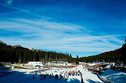 Stadium during Men 12,5 km Pursuit at day 3 of IBU Biathlon World Cup 2014/2015 Pokljuka, on December 20, 2014 in Rudno polje, Pokljuka, Slovenia. Photo by Vid Ponikvar / Sportida
