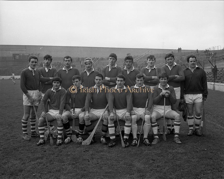 15/02/1970<br /> 02/15/1970<br /> 15 February 1970<br /> National Hurling League: Cork v Dublin at Croke Park, Dublin. <br /> The Cork team.