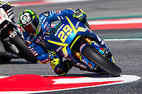Andrea Ianone of Italy and Suzuki Ecstar Team  rides during free practice for the MotoGP of Catalunya at Circuit de Catalunya on June 10, 2017 in Montmelo, Spain.(ALTERPHOTOS/Rodrigo Jimenez)