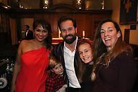 Danielle de Niese and Alfie Boe pose during the Nordoff Robbins Carol Service 2019, St Luke's Church, Chelsea, London, UK, Tuesday 10 December 2019<br /> Photo JM Enternational