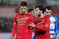 (L-R) *Pantelis Hatzidiakos* of AZ Alkmaar, *Joris van Overeem* of AZ Alkmaar