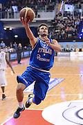 BIELLA 16 DICEMBRE 2012<br /> BASKET ALL STAR GAME<br /> NAZIONALE ITALIANA - ALL STAR<br /> NELLA FOTO GENTILE<br /> FOTO CIAMILLO