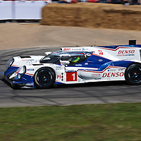 #1 Toyota TS040 Hybrid at the Goodwood FOS on 28 June 2015