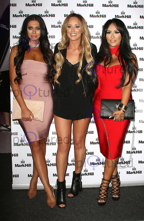 Chloe Ferry, Charlotte Crosby & Sophie Kasaei, Mark Hill - Pick 'N' Mix Party, The Ice Tank, London UK, 27 July 2016, Photo by Brett D. Cove