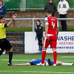 Montrose v Dumbarton, Scottish League One, 3 November 2018