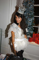LISA MOORISH at Garrard's Winter Wonderland party held at their store 24 Albermarle Street, London W1 on 30th November 2006.<br />