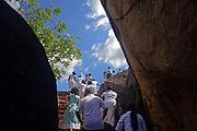 Isurumuniya, Buddhist temple situated near to the Tissa Wewa (Tisa tank), Anuradhapura.