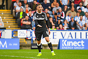 Richard Keogh of Derby County (6) in action during the EFL Sky Bet Championship match between Huddersfield Town and Derby County at the John Smiths Stadium, Huddersfield, England on 5 August 2019.
