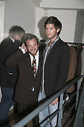 Tom Freud,  Book launch for ' What Did I Do last night' by Tom Sykes. Century Club. Shaftesbury Ave. London. 16 January 2006. -DO NOT ARCHIVE-© Copyright Photograph by Dafydd Jones. 248 Clapham Rd. London SW9 0PZ. Tel 0207 820 0771. www.dafjones.com.