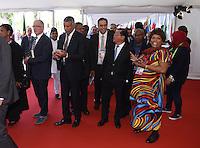 Fussball International 65. FIFA Kongress in Zuerich  28.05.2015 Eroeffnung: Delegierte und Gaeste auf dem Roten Teppich