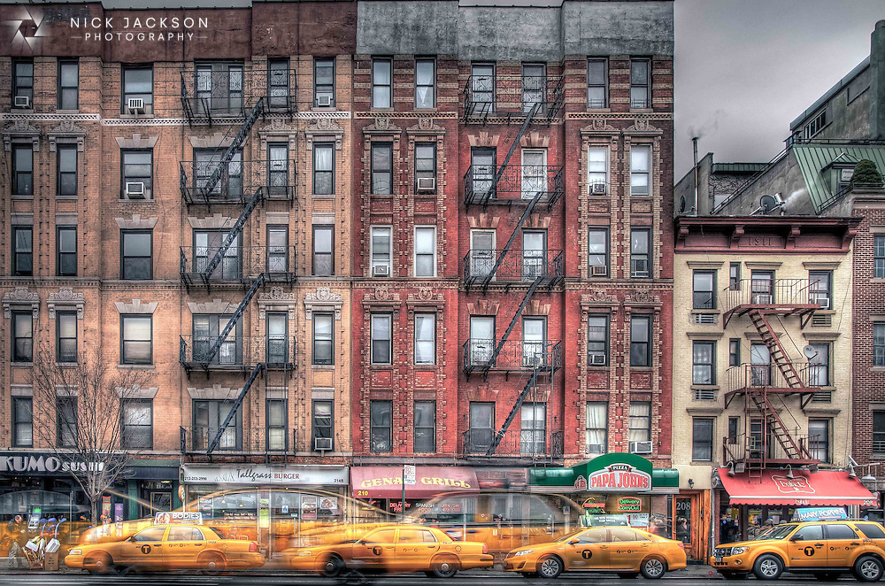 One of the most recognisable features of New York City, the yellow cabs seem to outnumber all other modes of transport.
