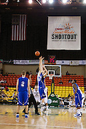 November 27th, 2010:  Anchorage, Alaska - Weber State and Drake tip off in the third place game of the Great Alaska Shootout.  Weber trailed the entire game until taking the lead with 33 seconds left and then scored the winning free throws to beat the Drake Bulldogs 82-81.