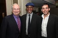 Paul Gambaccini, Keith Harris (PPL Director of Performer Affairs), Ben Lambert (PPL Finance Director)