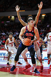 NORMAL, IL - December 08: Dominik Olejniczak during a college basketball game between the ISU Redbirds and the University of Mississippi (Ole Miss) Rebels on December 08 2018 at Redbird Arena in Normal, IL. (Photo by Alan Look)