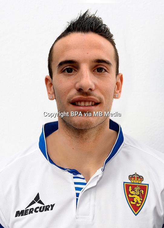 Spain - La Liga Adelante 2014-2015 / <br /> ( Real Zaragoza ) - <br /> Jose Manuel Fernandez Reyes