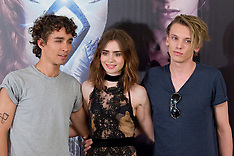 AUG 22 2013 The Mortal Instruments: City of Bones' photocall in Madrid, Spain