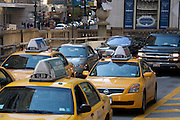 heavy traffic on Park Avenue NYC around Grand Central