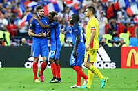 Olivier Giroud, Kingsley Coman France <br /> Paris 10-06-2016 Stade de France Footballl Euro2016 France - Romania  / Francia - Romania Group Stage Group A. Foto Matteo Ciambelli / Insidefoto