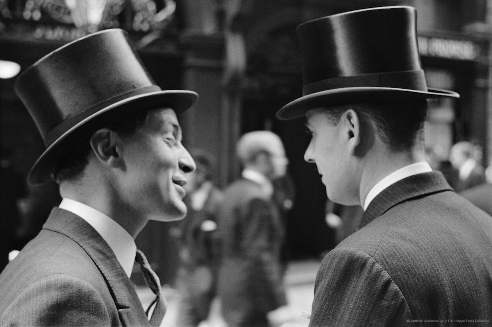 Top Hats in Throgmorton Street, London, 1937