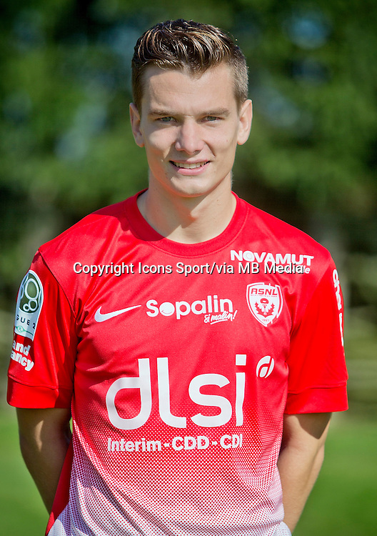 Benjamin JEANNOT - 03.10.2013 - Photo Officielle - Nancy -<br /> Photo : Icon Sport