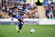 Jon Daoi Boovarsson of Reading in action during the EFL Sky Bet Championship match between Reading and Wigan Athletic at the Madejski Stadium, Reading, England on 9 March 2019.