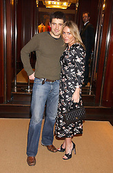 Actor TOM CHAMBERS and actress PATSY KENSIT at a party at Ralph Lauren, Bond Street, London in support of the NSPCC's Full Stop campaign on 21st March 2006.<br /><br />NON EXCLUSIVE - WORLD RIGHTS