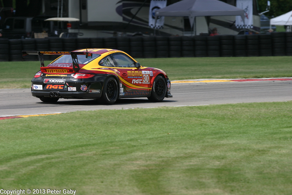 #30 Sean Edwards during the Orion Energy Systems 245 - ALMS held at Road America,  Elkhart Lake, WI. on May 19, 2013.