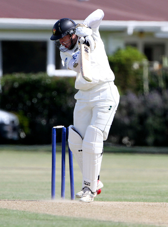 Wellington's Stephen Murdoch bowled for 103 against Central districts Plunket Shield cricket match being played at Nelson Park, Napier, New Zealand, Monday, November 08, 2011 Credit: SNPA / John Cowpland