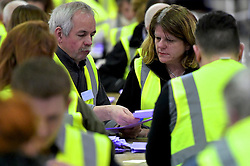SCOTTISH PARLIAMENTARY ELECTION 2016 – Counting Agents and Election agents at Royal Highland Centre, Edinburgh<br />(c) Brian Anderson | Edinburgh Elite media