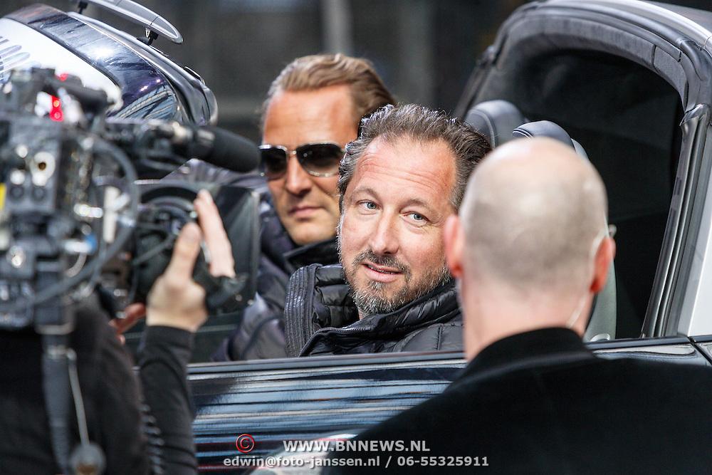 NLD/Amsterdam/20150526 - Gumball 3000 aankomst in de Amsterdam Arena, Richard Rawlings