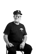 Allen Rienhardt<br /> Navy & Marine Corps<br /> E-5<br /> 1966-1972<br /> Corpsman<br /> Vietnam<br /> <br /> Veterans Portrait Project<br /> Laconia, NH<br /> Laconia Bike Week